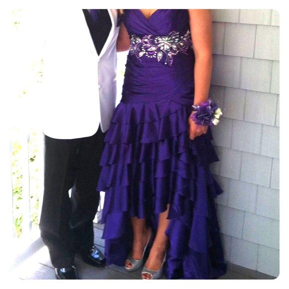 Dresses & Skirts - Purple prom dress